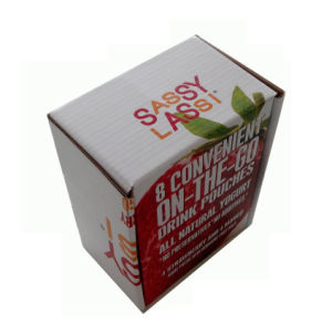 Customized Size and Design Strawberry Box pictures & photos