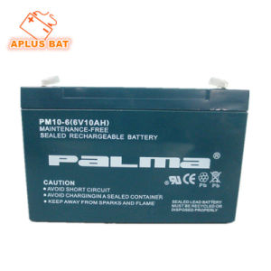 Factory Price 6V 10ah Mini UPS Battery Backup Use pictures & photos