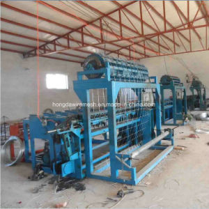 Automatic Cattle Hing Joint Fixed Knot Field Fence Making Machine pictures & photos
