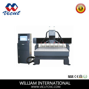 High Efficiency Mutil Head CNC Woodworking Machine with Table Move pictures & photos
