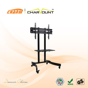 "Economic Rotate TV Stand 360 for 30""-63"", Swivel Stand for TV Cart (CT-FTVS-T115) pictures & photos"