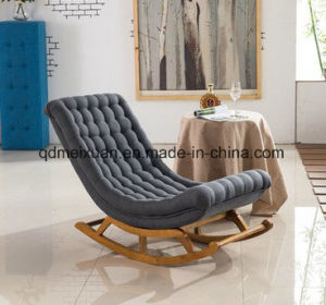 Factory Direct Sale Wholesale Nordic Solid Wood Sofa, Single Free Chair Lazy on The Couch Sofa Rocking Chair The Balcony (M-X3760) pictures & photos