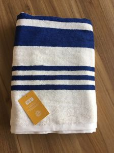 Bamboo Fiber Stripe Bath Towel pictures & photos