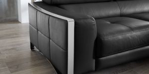 Home Decoration Living Room Sectional Leather Sofa with Armrest (L070) pictures & photos