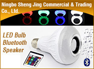 Wireless Remote Control Powered LED Bulb Light Bluetooth Speaker pictures & photos