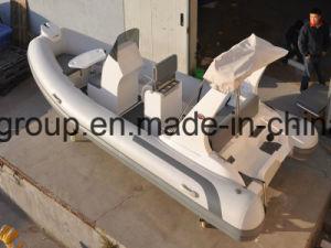 Liya PVC China Rib Boats 17feet Hydraulic Center Console Boat pictures & photos