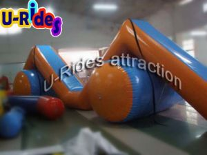 Z Shape Inflatabe Water Slide Float on Sea pictures & photos