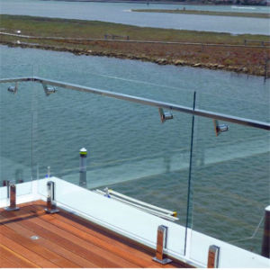 Outdoor Frameless Glass Balustrades System with Cheap Price pictures & photos