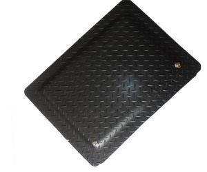 PVC Rubber Antislip Yellow Black Cleanroom Mat pictures & photos