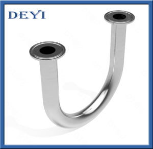 Stainless Steel Sanitary Pipe Fitting 180 Degree Tri Clamp Clamp Elbow (DY-E016) pictures & photos