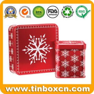 Custom Square Pamper Tin Box for Metal Gift Tin Can pictures & photos