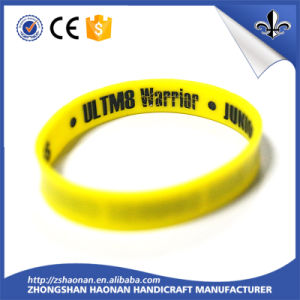 Professional DIY Fashion Style Silicone Wristbands with Logo pictures & photos