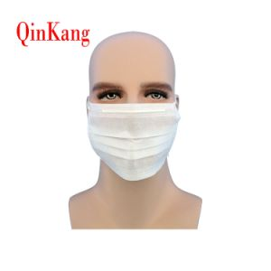 Disposable Non Woven Surgical Face Mask 3ply with Headloop pictures & photos
