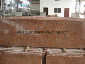 Cheapest G562 Granite Stone Maple Leaf Red Granite Step Vanity Top & Wall Covering pictures & photos
