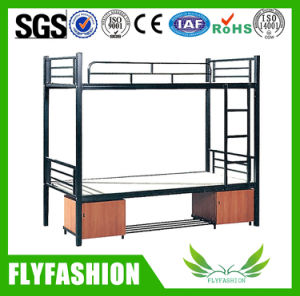 School Dormitory Beds Metal Frame Bunk Bed with Drawer (BD-72) pictures & photos