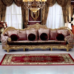 Living Room Sofa with Sofa Chair for Home Furniture (962) pictures & photos