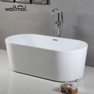 Be Like Girlfriend Soomth-Touching Best Acrylic Soaking Bathtub (WTM-02522) pictures & photos
