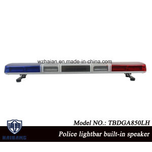 47 Inch Police Siren Warning Lightbar Built-in Speaker with Super Bright LEDs DC 12V pictures & photos