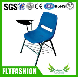 Wood School Chair with Writing Table pictures & photos