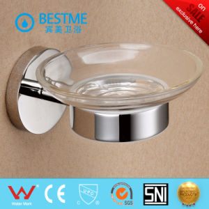 Factory Good Price Wall Mounted Glass Soap Dishes for Bathrooms (BG-C42007) pictures & photos