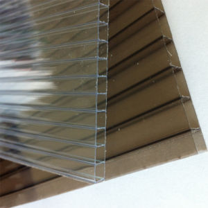 Twin Wall Hollow Polycarbonate Sheet for Waiting Room pictures & photos
