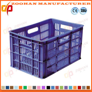 Stackable Plastic Vegetables and Fruits Storage Display Turnover Box (Zhtb3) pictures & photos