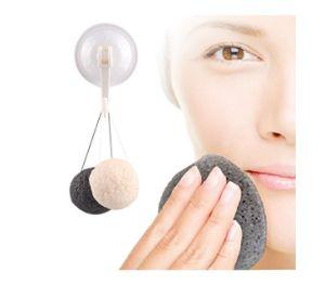 Wholesale Skin Care Private Label 100% Natural Organic Konjac Facial Sponge Charcoal Pure Konjac Sponge pictures & photos