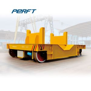 60 Ton Loading Rail Guided Vehicle Heavy Scrap Transfer Cart pictures & photos