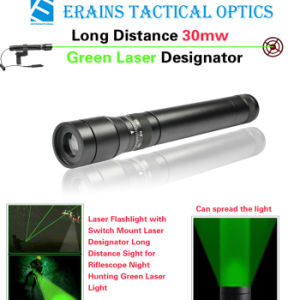 New Long Distance 50mw Green Laser Designator / Sight (ES-G25-M) pictures & photos