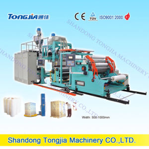 PE Stretching Package Film Extrusion Machine pictures & photos