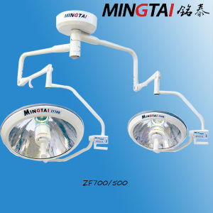 Surgical Lighting Systems, Zf700/500 Overhead Shadowless Operation Light (with camera) pictures & photos
