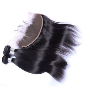 7A Brazilian Virgin Human Hair Extensions with 360 Lace Frontal Closures pictures & photos