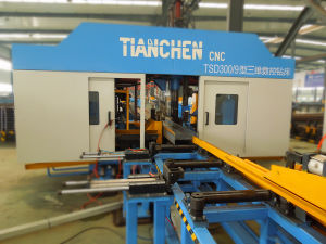 Beam Drilling Machine for Steel Structure Tsd1250 pictures & photos