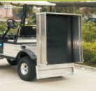 Electric Utility Cart with Mini Cargo Truck (DEL2023DUB, 2-Seater) pictures & photos