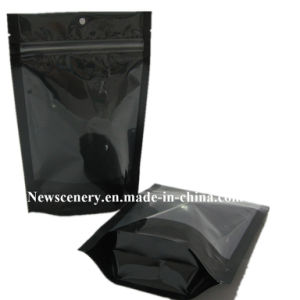 Stand up Pouch with Zipper/Plastic Zip Lock Bag/Zipper