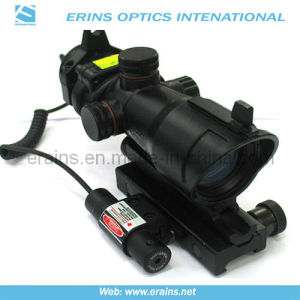 Trijicon Style Combat Sight Scope with Mini Red Laser Sight Attached (HD-2+JG-11) pictures & photos