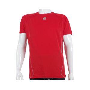 Running Wicking Quick Dry Short Sleeve Round Neck T-Shirt