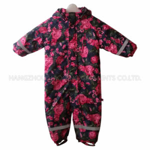 Flower Sealant Children Conjoined Clothes/Overall pictures & photos