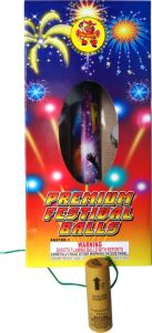 Artillery Shells Fireworks Premium Festival Balls with Fiberglass Tubes pictures & photos