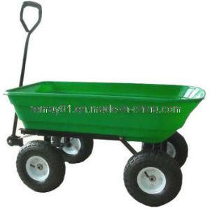 Plastic Hand Dump Cart TC2145 pictures & photos