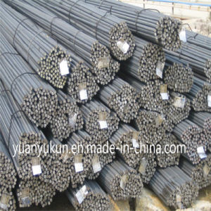 Hot-Rolled Round Mild HRB400 Deformed Bar for Building/Construction/Concrete pictures & photos