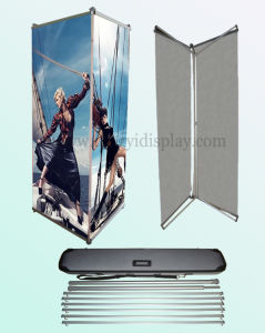 Three Sides L Banner Stand (BN-28) pictures & photos