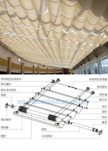 Fcs Folding Skylight Shades pictures & photos