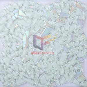 Irregular Tempering Glass Art Crystal Mosaic Tile (CFC250) pictures & photos