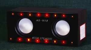 Loudspeaker with LED Color Lights Design (MD-W93)