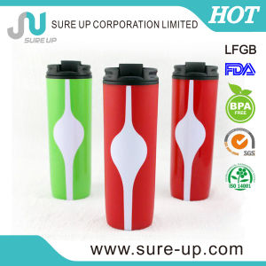 New Design Double Wall Plastic Bottle (MPUF) pictures & photos