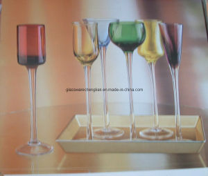 Set of 7PCS of Colorful Shot Glass Set (B-GS08) pictures & photos