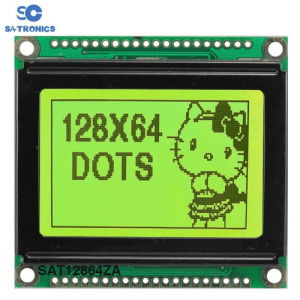 128*64dots Graphic Type Stn LCD Display (Size: 93*70mm)