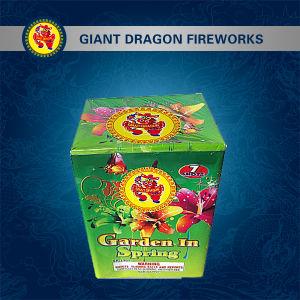 7 Shot Garden Spring Combination Fireworks Gd-L901 pictures & photos