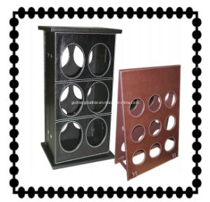 Leather Wine Rack, Wine Holder, Home Furnishing Storage (PB038)
